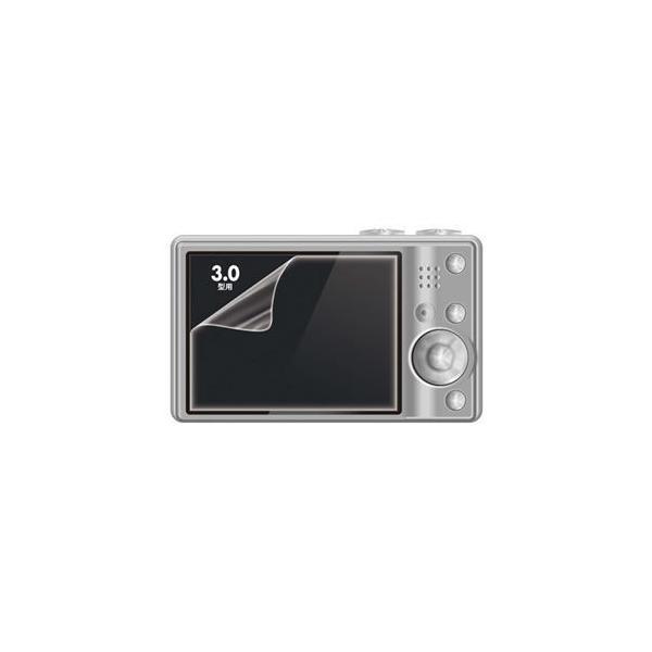 ds-2142317 (まとめ)サンワサプライ 液晶保護光沢フィルム3.0型 DG-LCK30 1枚【×10セット】 (ds2142317)