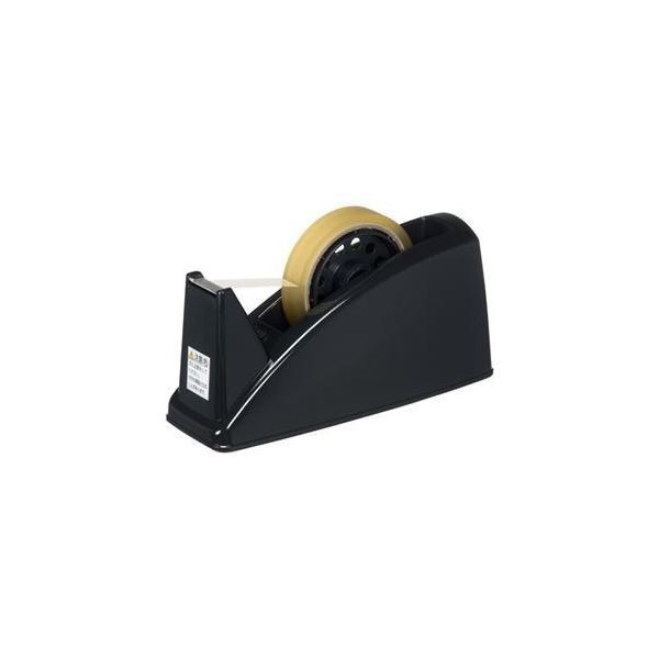 ds-2159717 (まとめ) プラス テープカッター TC-101E BK 黒 10台【×3セット】 (ds2159717)