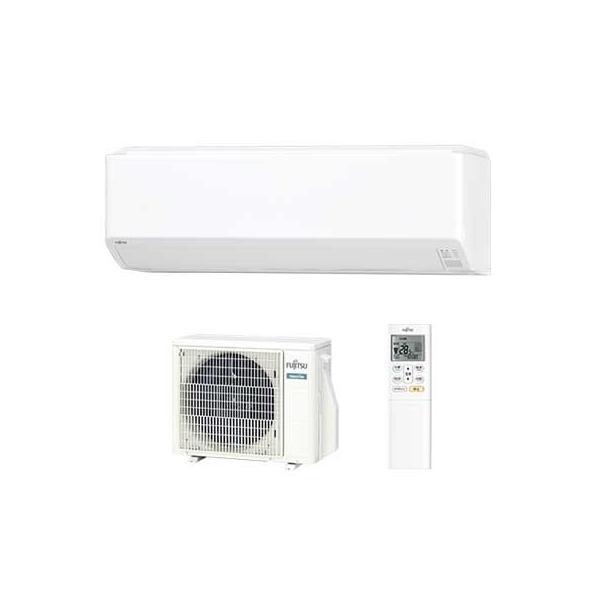 富士通 AS-C25J-W 『nocria(ノクリア) Cシリーズ』インバーター冷暖房エアコン(主に8畳用) (ASC25JW)
