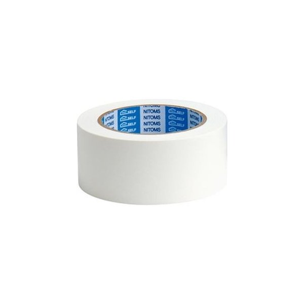 ds-2184443 (まとめ)ニトムズ カラー布粘着テープSE 白 1巻【×10セット】 (ds2184443)