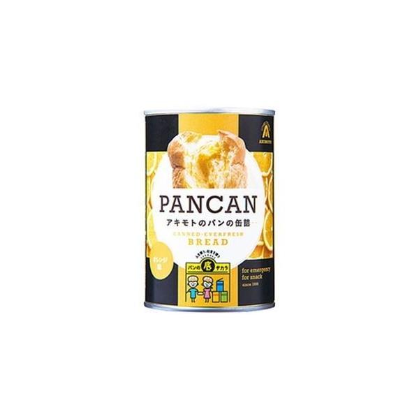 ds-2185231 (まとめ)アキモト 缶入りソフトパン オレンジ味 1缶(100g)【×10セット】 (ds2185231)