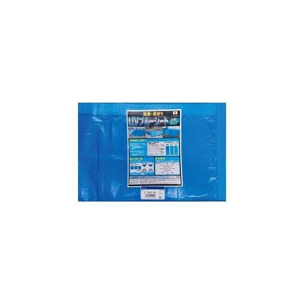 ds-2279172 (まとめ)萩原工業 UVブルーシート2年タイプ 2.7m×3.6m(×20セット) (ds2279172)