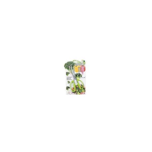 ds-2280398 カーブ刃はさみ/キッチンばさみ 80×10×180mm 食洗機対応 ステンレス 日本製 フルベジ 〔キッチン用品 台所用品 調理器具〕 (ds2280398)
