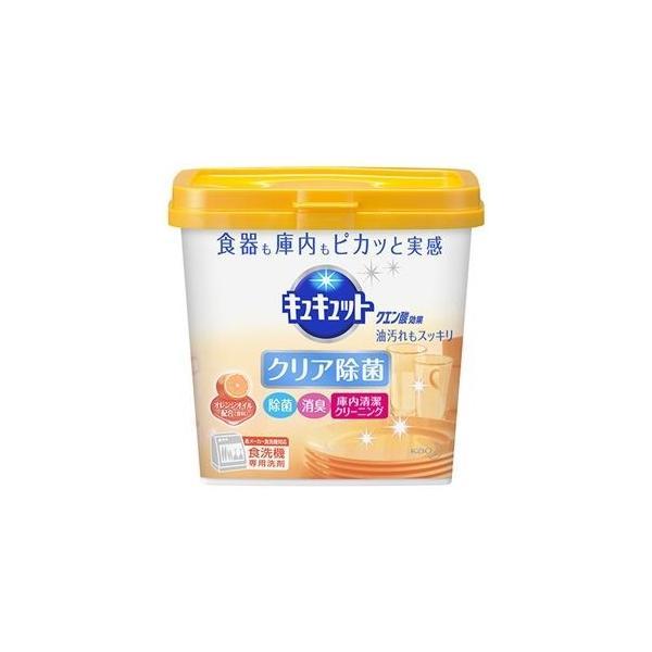 ds-2300999 (まとめ)花王 食器洗い乾燥機専用キュキュットクエン酸効果 オレンジオイル配合 本体 680g 1個【×10セット】 (ds2300999)