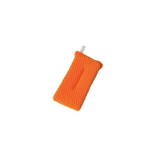 ds-2302207 (まとめ)アイセン アクリルネットクリーナー オレンジ YK002 1個【×20セット】 (ds2302207)