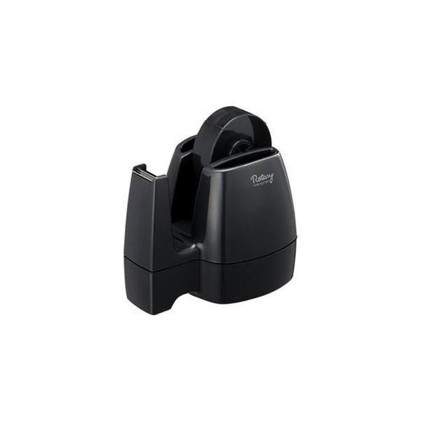 ds-2307635 (まとめ)コクヨ テープカッター<ロータリー> 黒 T-M13D 1台【×10セット】 (ds2307635)