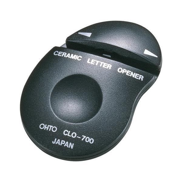 オート 4971516620814 セラミックレターオープナー 黒 CLO-700クロ (1個)