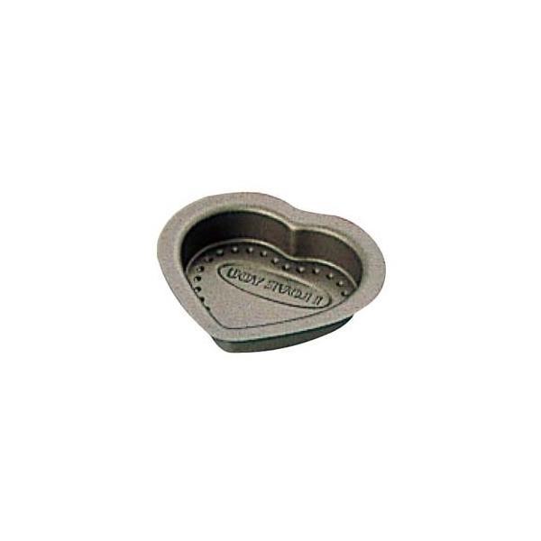 富士ホーロー EBM-2653600 【10個セット】テフロンセレクト チョコレート ハート型 小 (EBM2653600)