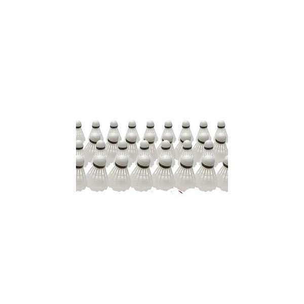 ds-2320916 (まとめ)バトミントン用プラシャトル ホワイト 3P【×10個セット】 (ds2320916)