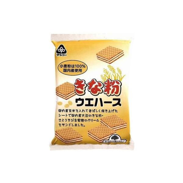 【納期目安:1週間】CMLF-1460900 サンコー きな粉ウエハース 12袋 (CMLF1460900)
