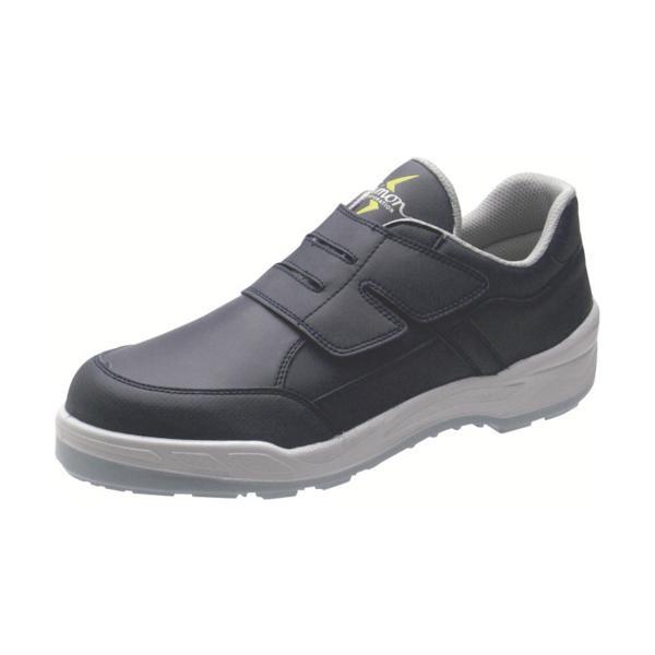 トラスコ中山 tr-8166141 シモン 静電プロスニーカー 短靴 8818N紺静電仕様 23.0cm (tr8166141)