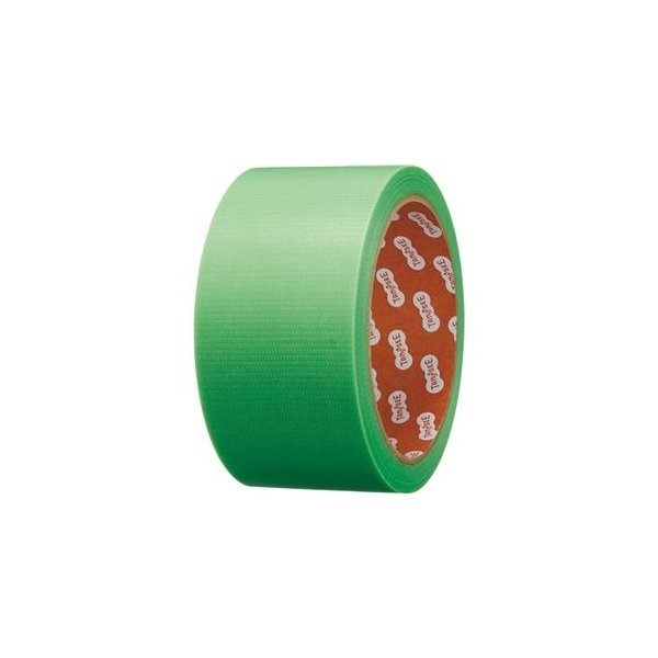 ds-2361776 (まとめ)TANOSEE カラー養生テープ 50mm×25m 緑 1巻 【×10セット】 (ds2361776)