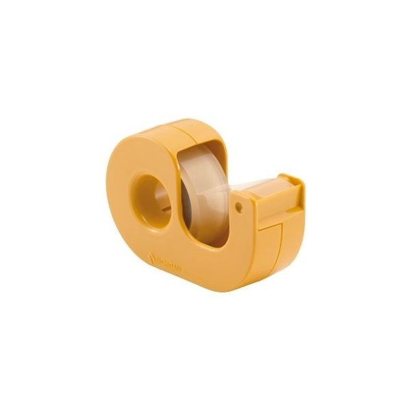 ds-2362042 (まとめ)ニチバン セロテープ(まっすぐ切れるタイプ) 小巻カッター付 15mm×9m イエロー CT-15DCY 1個 【×30セット】 (ds2362042)