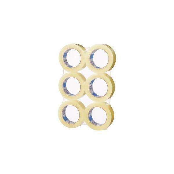 ds-2365161 (まとめ)積水化学 OPPテープ No.882E 36mm×100m 透明 P82T2JA 1パック(6巻) 【×10セット】 (ds2365161)