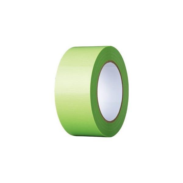 ds-2365816 (まとめ)寺岡製作所 養生テープ 50mm×50m 若葉 TO4100G-50 1巻 【×10セット】 (ds2365816)