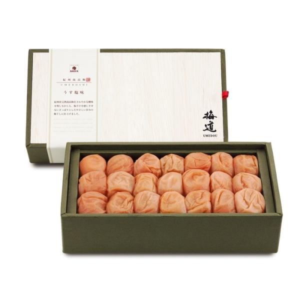 中田食品 4904046018615 梅道 紀州南高梅 うす塩味500g