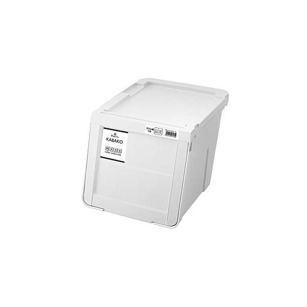 ds-2394589 【8個セット】 収納ボックス/収納ケース 【ホワイト スリムMサイズ】 幅30cm スタッキング可 『天馬 プロフィックス カバコ』 (ds2394589)