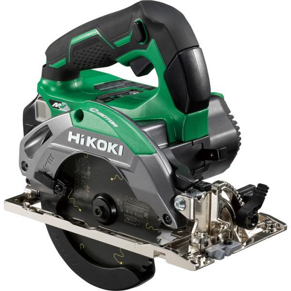 HiKOKI C3605DA(SK)(2XPS) 【職人さん応援キャンペーン!!】36V 125mm コードレス丸のこ 高速7000回転 ベース一体型 アグレッシブグリーン