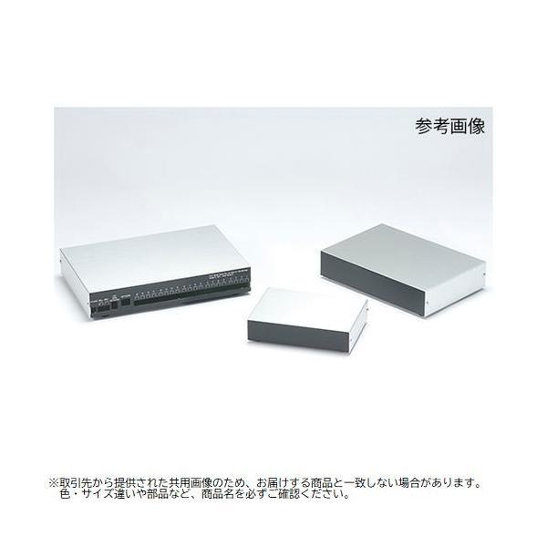 【納期目安:1週間】62-8330-35 YM型薄型アルミケース YM-200 (62833035)