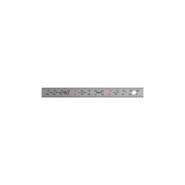 【納期目安:1週間】CMLF-1624666 ステンレス・アルミ定規 ユニオン直尺 15cm 1-831-0015 (CMLF1624666)