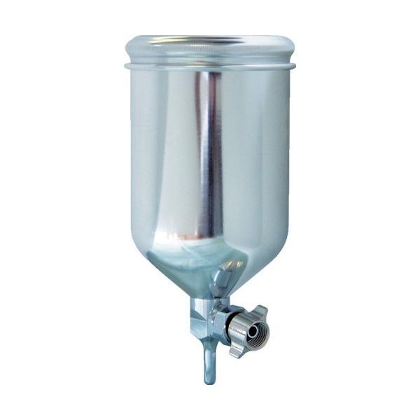 トラスコ中山 tr-4320786 デビルビス 重力式塗料カップ超軽量アルミアルマイト製自在式400ccG1/4 (tr4320786)