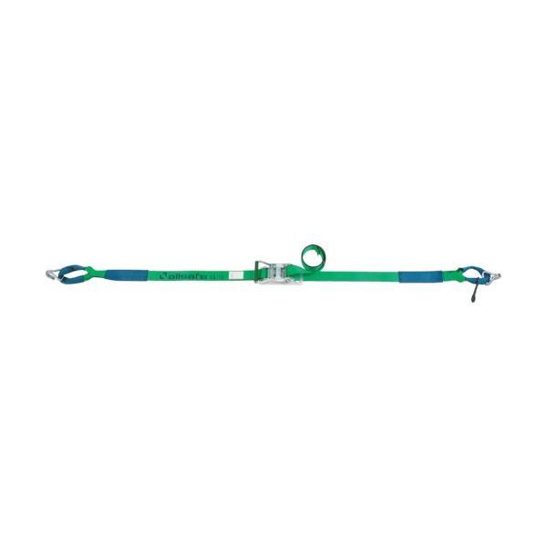 トラスコ中山 tr-4795261 allsafe ベルト荷締機 ラチェット式しぼり&ナローフック(重荷重) (tr4795261)