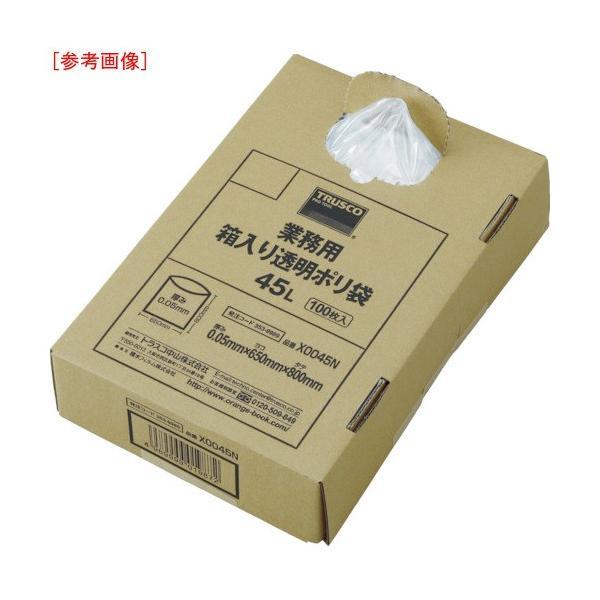 トラスコ中山 tr-4886437 TRUSCO まとめ買い 業務用ポリ袋 透明・箱入り 0.05X120L (100枚入) (tr4886437)