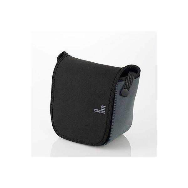 エレコム DGB-S020BK 一眼カメラケース/ソフトタイプ/Mサイズ/ブラック (DGBS020BK)