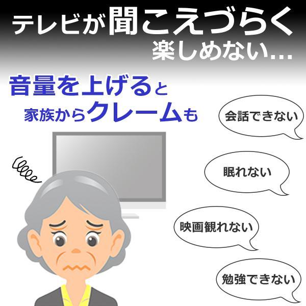 ELPA 3m カナル型 地デジTV用片耳イヤホン (黒) RE-STK03 (BK)