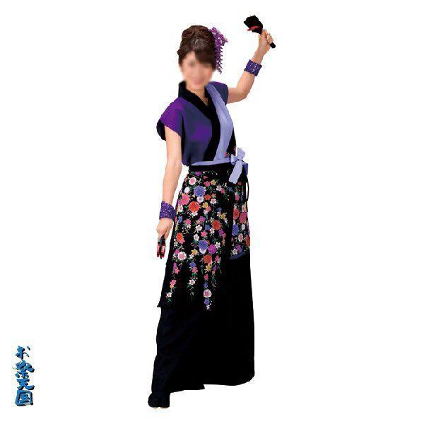 よさこいコスチューム 上衣 =よさこい衣装 YOSAKOIソーラン よさこい祭り= (73001)|dento-wako