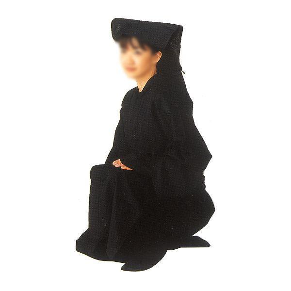 黒子衣装(黒衣) =舞台 イベント向本格衣装=|dento-wako