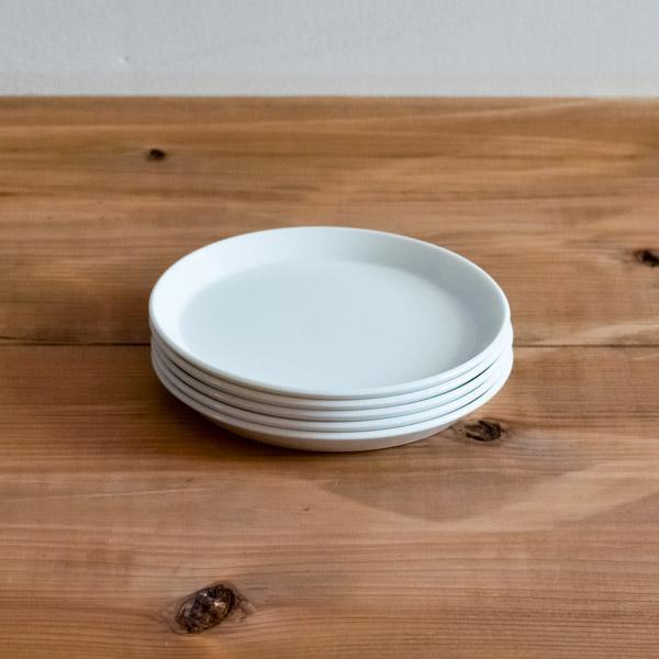 TY Round Plate White 80mm 5個セット ( 1616 / arita japan ラウンドプレート 食器 ホワイト 小皿 醤油皿 有田焼 結婚 出産 内祝い 引き出物 ) dentouhonpo