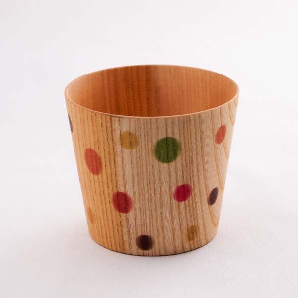 欅 しっとりカップ カラフル (S)