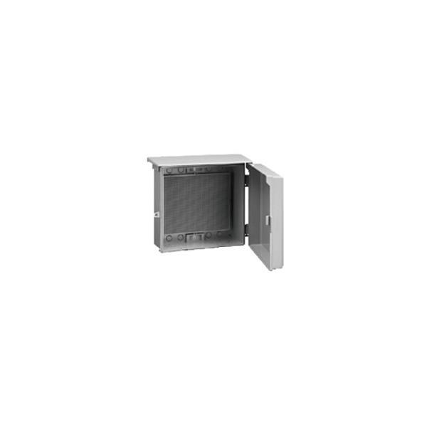 伊藤電気製作所 プラボックス フリープラボックス屋根つき型(ヨコ型) ライトグレー POF-4N
