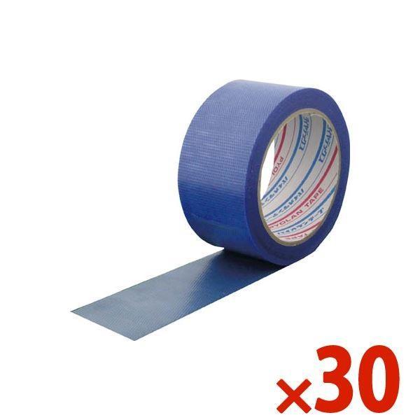 DIATEX ダイヤテックス パイオラン微粘着養生テープ 50mm×25m ブルー まとめ買い30巻 Y-03-BL