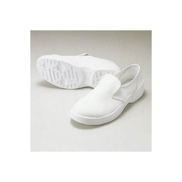 ゴールドウイン 静電安全靴クリーンシューズ ホワイト 24.0cm PA9880W24.0