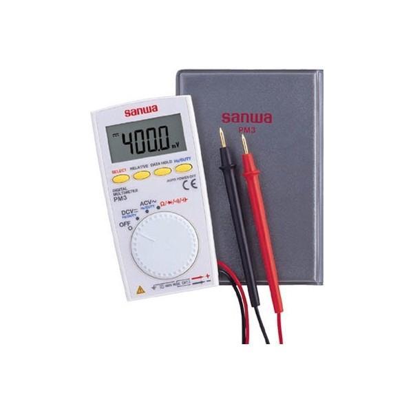 SANWA ポケット型デジタルマルチメーター PM3