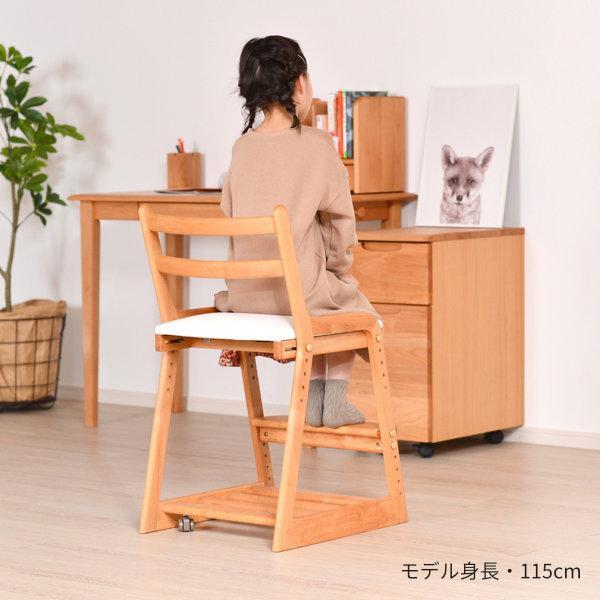 学習椅子 学習チェア 子供椅子 キッズ 高さ調整 アルダー ライフ デスク チェア (IS)|denzo|02