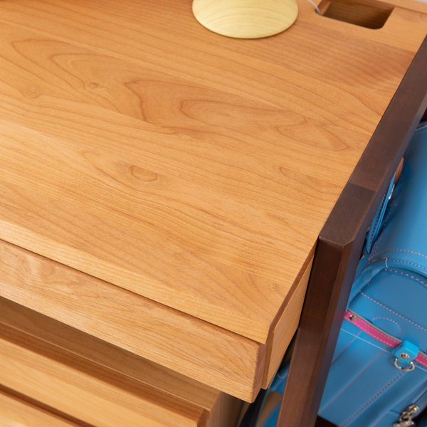 学習机 勉強机 学習デスク 高さ調整 キッズ 机 つくえ 木製 子供 送料無料 幅100 ステップ (IS)|denzo|02