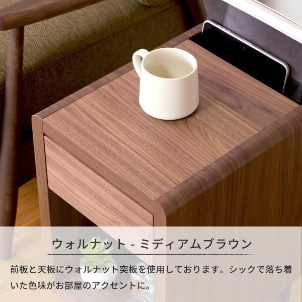 サイドテーブル おしゃれ テーブル 木製 北欧 クリップ ISSEIKI denzo 09