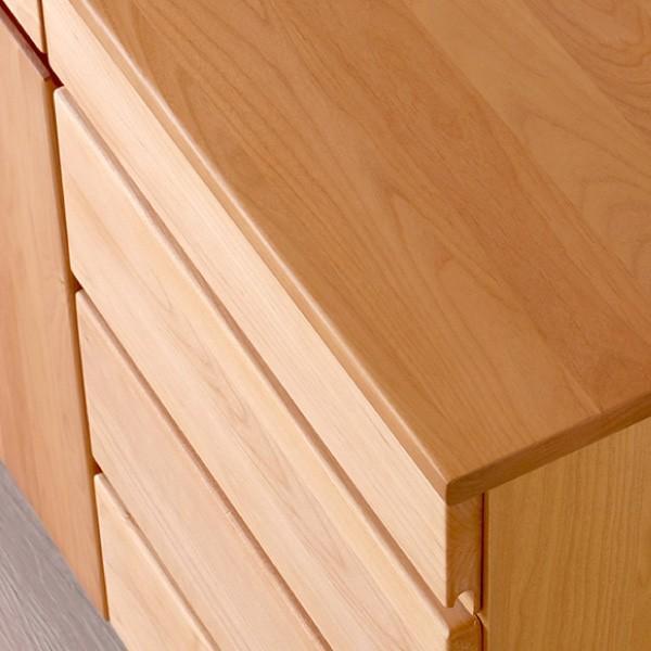 サイドボード リビングボード 棚 収納棚 無垢 バスク140 (IS)|denzo|02