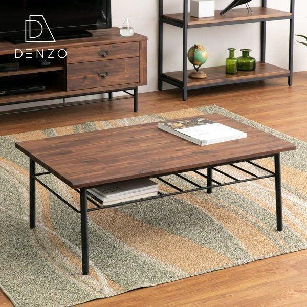 最大34%付与!!テーブル ローテーブル ビンテージ 木製 無垢 90 リトル (IS) denzo