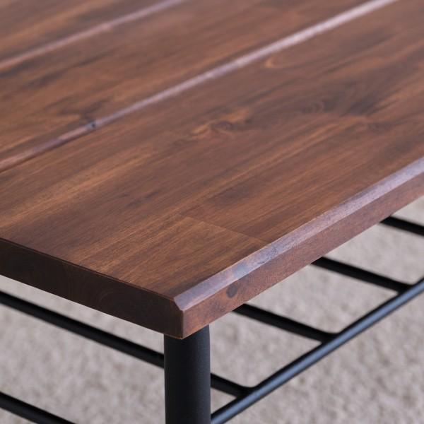 最大34%付与!!テーブル ローテーブル ビンテージ 木製 無垢 90 リトル (IS) denzo 02