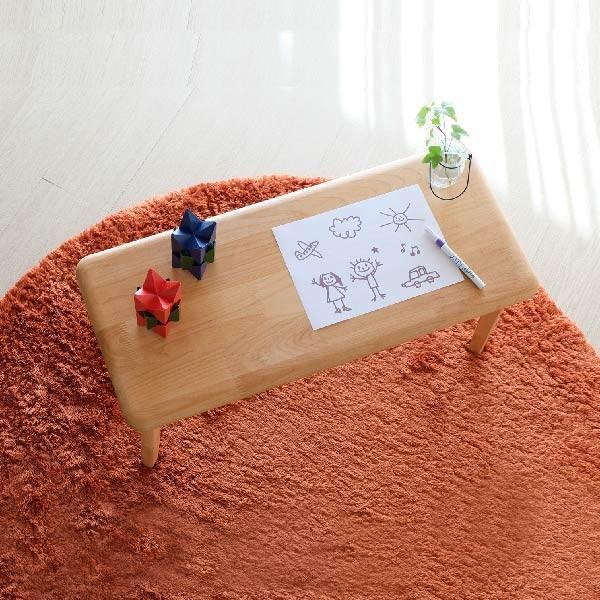 キッズテーブル 子供部屋家具 子供用 木製 カルボ キッズ ミニテーブル  (IS)|denzo|02