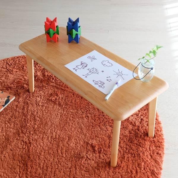キッズテーブル 子供部屋家具 子供用 木製 カルボ キッズ ミニテーブル  (IS)|denzo|03