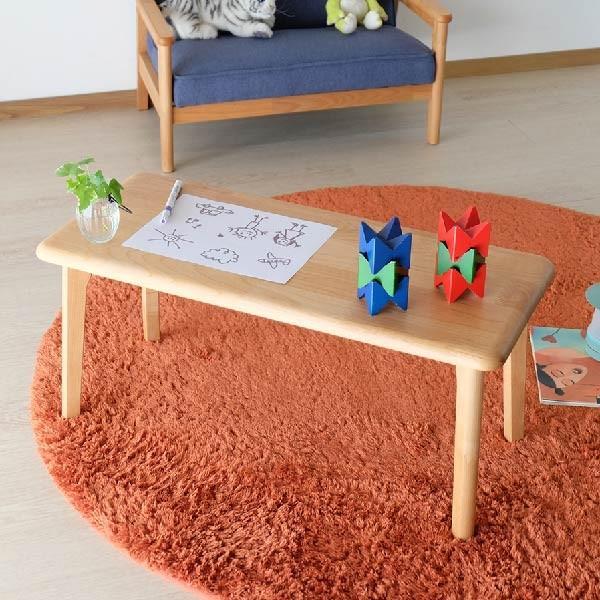 キッズテーブル 子供部屋家具 子供用 木製 カルボ キッズ ミニテーブル  (IS)|denzo|04