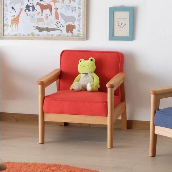 キッズソファ 子供部屋家具 子供用 木製 カルボ キッズ ソファ S  (IS)|denzo|02