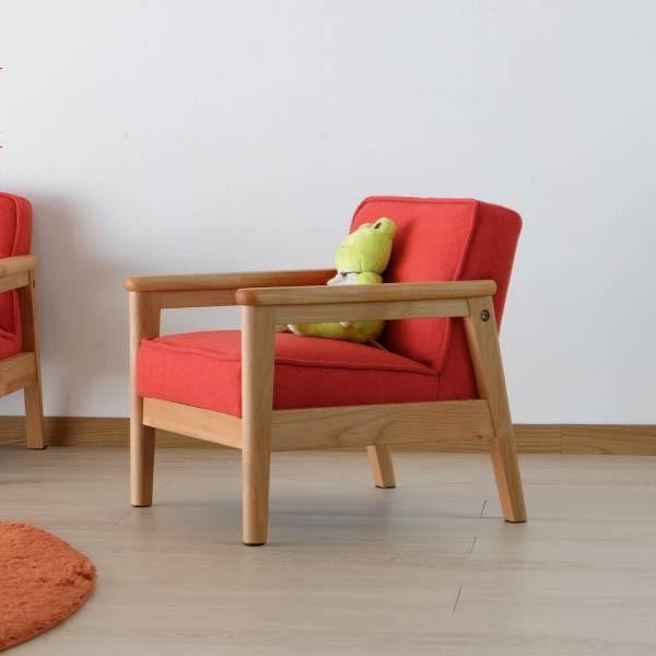キッズソファ 子供部屋家具 子供用 木製 カルボ キッズ ソファ S  (IS)|denzo|03