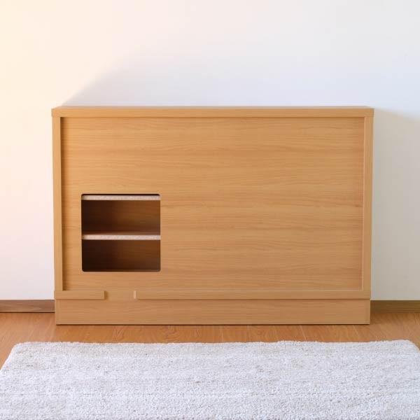キッチン リビング キャビネット 収納ボックス 幅120 奥行35 シエン(IS)|denzo|07