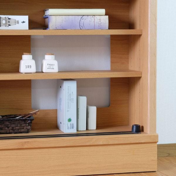 キッチン リビング キャビネット 収納ボックス 幅150 奥行25 シエン(IS)|denzo|05
